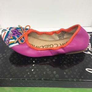 6359ac4a36efff Sam Edelman Shoes - Sam Edelman Girl s Felicia Embroidered Ballet Flat